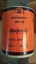 NEW NOS Shawmut A6X800 Fuse Amp-Trap Form 600 800 Amps Type 5