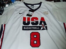 NIKE USA DREAM TEAM OLYMPIC BASKETABALL #8 PIPPEN TANK VEST CANOTTA Sz XXL
