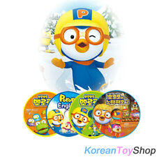 Pororo DVD Series (You Can Select Titles You Want!) + Bonus Cute Pororo Sticker