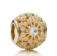 S925 Sterling Silver  Inner Radiance Cinderella's Wish Charm Bead Fit Bracelet
