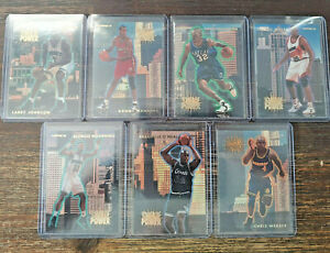 1993-94 Fleer NBA Tower of Power Select Your Insert Card Complete Your Set
