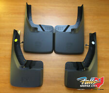 09-2019 Dodge Ram Front and Rear Deluxe Molded Splash Guards Mud Flaps Mopar OEM