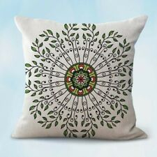Us Seller-decorative throw pillow case for couch sacred circle perfection