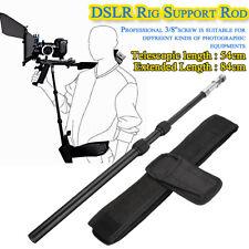 DSLR Rig Support Rod/ Belt Shoulder Mount for Video Camcorder Camera DV/DSLR