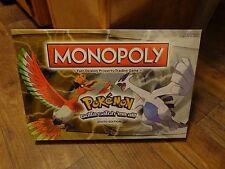 POKEMON MONOPOLY BOARD GAME (NEW) JOHTO EDITION