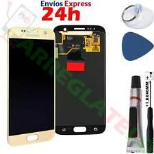 PANTALLA Original para Samsung Galaxy S7 G930F 930A LCD Completa Oro Dorado