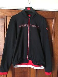 castelli thermal winter jacket xl