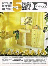 B- Publicité Advertising 1963 Mobilier les meubles Salle de Bain Formica