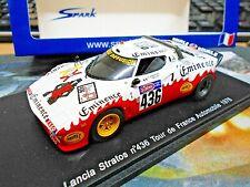 LANCIA Stratos Gr.5 Racing Rallye Tour Auto 1976 #436 Andruet Spark Resin 1:43