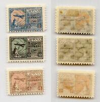 Lithuania 1922 SC C18-C20 mint . rtb4517