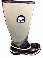 Sorel Women's Sorellington Canvas Rain Boots Size EUR.36. / US. 6