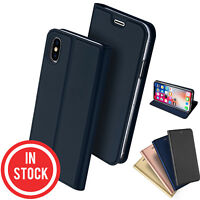 iPhone XS Max XR Wallet Case Magnetic Flip Leather Wallet Card for Apple