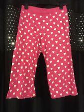 Womens/ Girls Pink Heart Betty Boop Pyjama Trousers