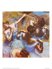Blue Dancers - Edgar Degas - Fine Art Giclee Print Poster (60 x 80)