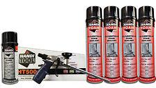Handi Foam Sealant - Gun Foam Combo Pack (HT500, Cleaner, (4) 24oz cans Sealant)