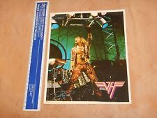 "Original 1984 Van Halen - David Lee Roth - Freezz Frame Promo Photo 8"" X 10"""