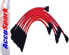 AccuSpark 8mm ROJO alto rendimiento de silicona roja Cables HT para TRIUMPH