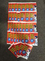 1981 Baseball Giant Photo Cards Topps