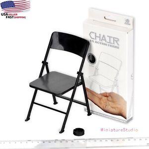 "1/6 Folding Chair For Phicen 12""/30cm Figure Action Furniture Model Hot Toys Dec"