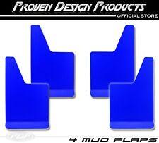 Chevrolet Silverado 1500 Z71, W/T, 2500 HD Mud Flaps, PDP MUDFLAPS PLAIN_ BLUE