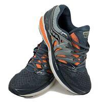 Saucony Everun Hurricane SO2 Men's Blue Orange Lace Up Running Shoes Size 11