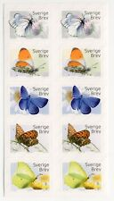 sw4 Sweden 2017 MNH stamps booklet butterfly stamps