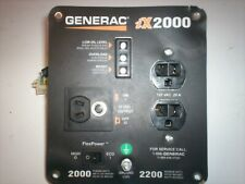 Generac IX 2000  Front Control Panel