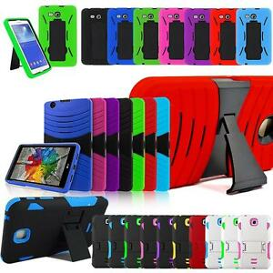 """New Tough Shockproof Hybrid Armor Combo Stand Impact Case For ?9.6""""-10.1""""?Tablet"""