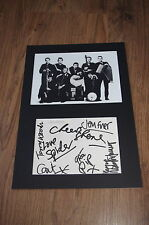THE POGUES Shane MacGowan signed 8x12 autograph matted InPerson Berlin LOOK
