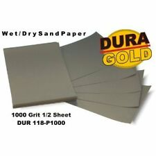 DURA-GOLD 1000 Wet or Dry Sandpaper Sand Auto/Car Paint Color Block Sander