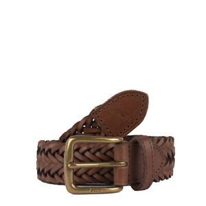 Polo Ralph Lauren Casual Braided Belt Polo Saddle - SALE