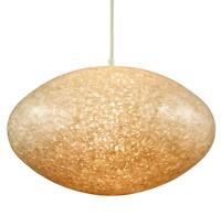 Pendel Leuchte Granulat Pille Ø 45 cm Hänge Lampe Erco Vintage 60er 70er Jahre