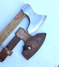 CUSTOM HANDMADE Art  STEEL WOOD Throwing  Axe HATCHET TOMAHAWK Knife 24 Inches