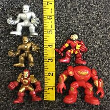 Super Hero Squad Iron Man Suits Mixed Lot Used free shipping