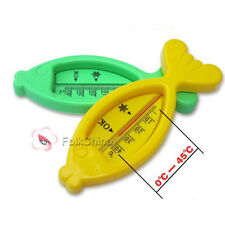 Cute Fish Shaped Safety Bath Thermometer Water Temperature Meter Baby Bath Toy