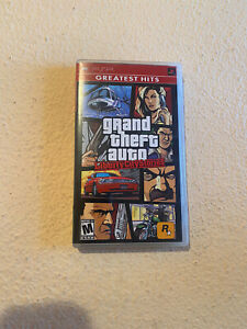 Grand Theft Auto: Liberty City Stories (Sony PSP, 2005) COMPLETE