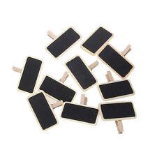 10PCs Mini Rectangle Clip Label On Blackboard Chalkboard Message Board