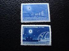 ROUMANIE - timbre yvert et tellier  aerien n° 144 145 n** (C5) stamp romania (Z)