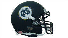Notre Dame Fighting Irish Navy Pinstripe Schutt Mini Authentic Football Helmet