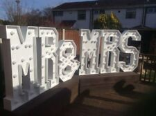 Wooden Personalised Wedding Love Letters