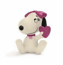 FIGURINE COLLECTION SNOOPY PEANUTS SCHLEICH 22030 SNOOPY BELLE AVEC COEUR NEUF