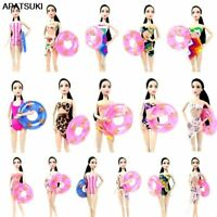 Bikini Swimwear Buoy Lifebuoy Swimsuit For Barbie Dollhouse Dolls Outfits Swim