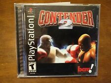 Contender 2 (Sony PlayStation 1, 2000) PS1 Complete Excellent Condition Game
