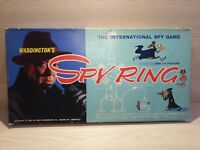 Vintage Waddingtons Spy Ring The International Spy Game Board Game 1965