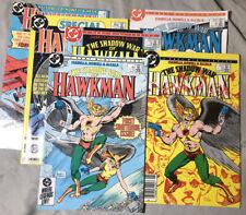 Lot Of 6  HAWKMAN #1-4 DC Comics(1985) + 1&4 Issue 1986 Ungraded & Uncert.