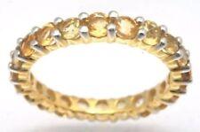 Echtschmuck-Ringe für Damen (17,5 mm Ø) Amethyst 55