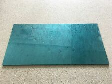 "KIRINITE: GREEN METAL FLAKE 3/16"" 6"" x 12"" Sheet for WoodWorking, Knife Making"