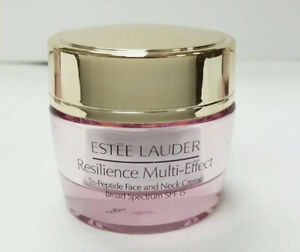 Estee Lauder Resilience Multi Effect Tri Peptide Face and Neck Creme 15ml/0.5 oz