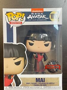 FUNKO POP AVATAR LAST AIRBENDER MAI WITH KNIVES #1003 SPECIAL EDITION EXCLUSIVE