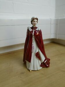 Royal Worcester, Queen Elizabeth II, 80th Birthday Statue 2006